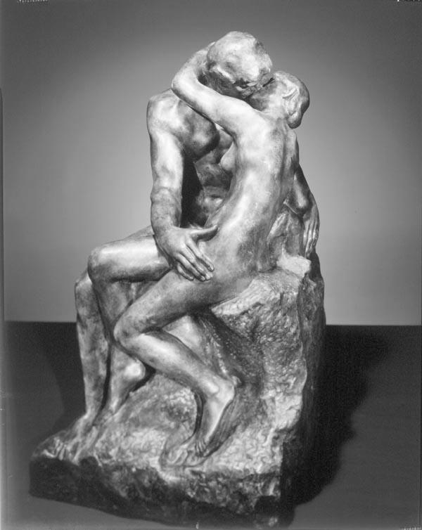 drawing rodin the kiss